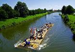 Floss auf Weser