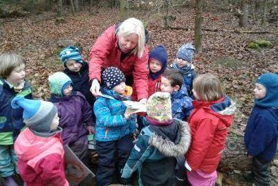 Vorlesetag 2020 im Waldkindergarten